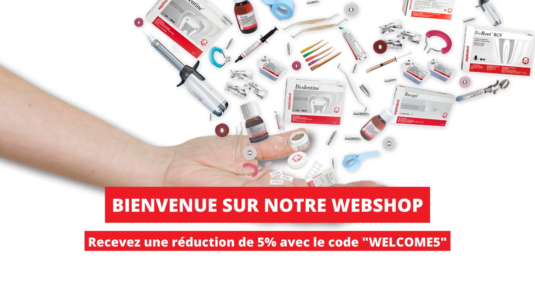 Bienvenue sur notre Webshop