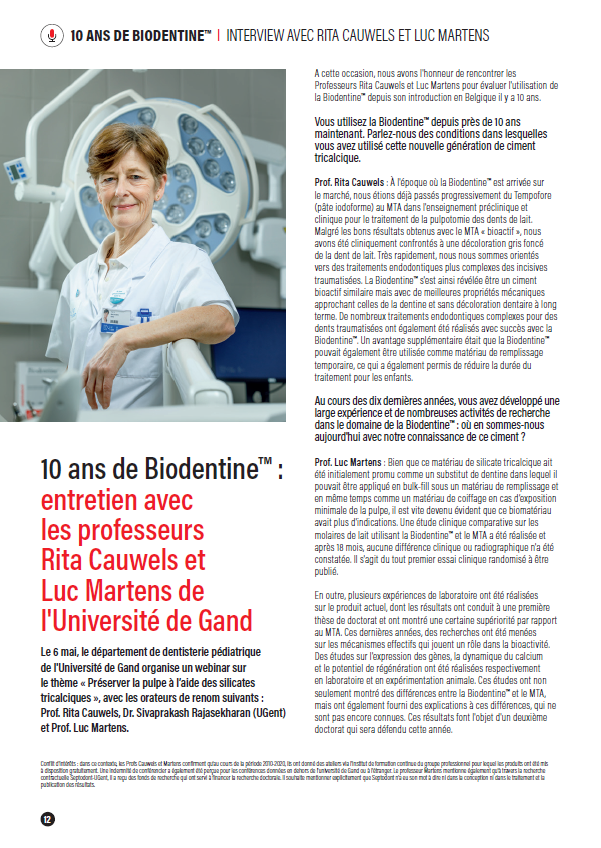 Interview prof Martens & prof Cauwels