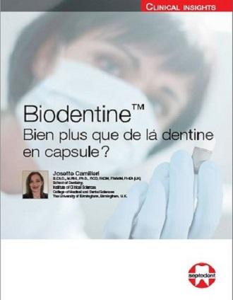 Biodentine: Bien plus que de la dentine en capsule