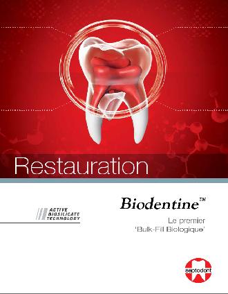 Biodentine restauration